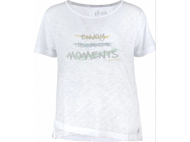 YORK Susan T-Shirt Women white